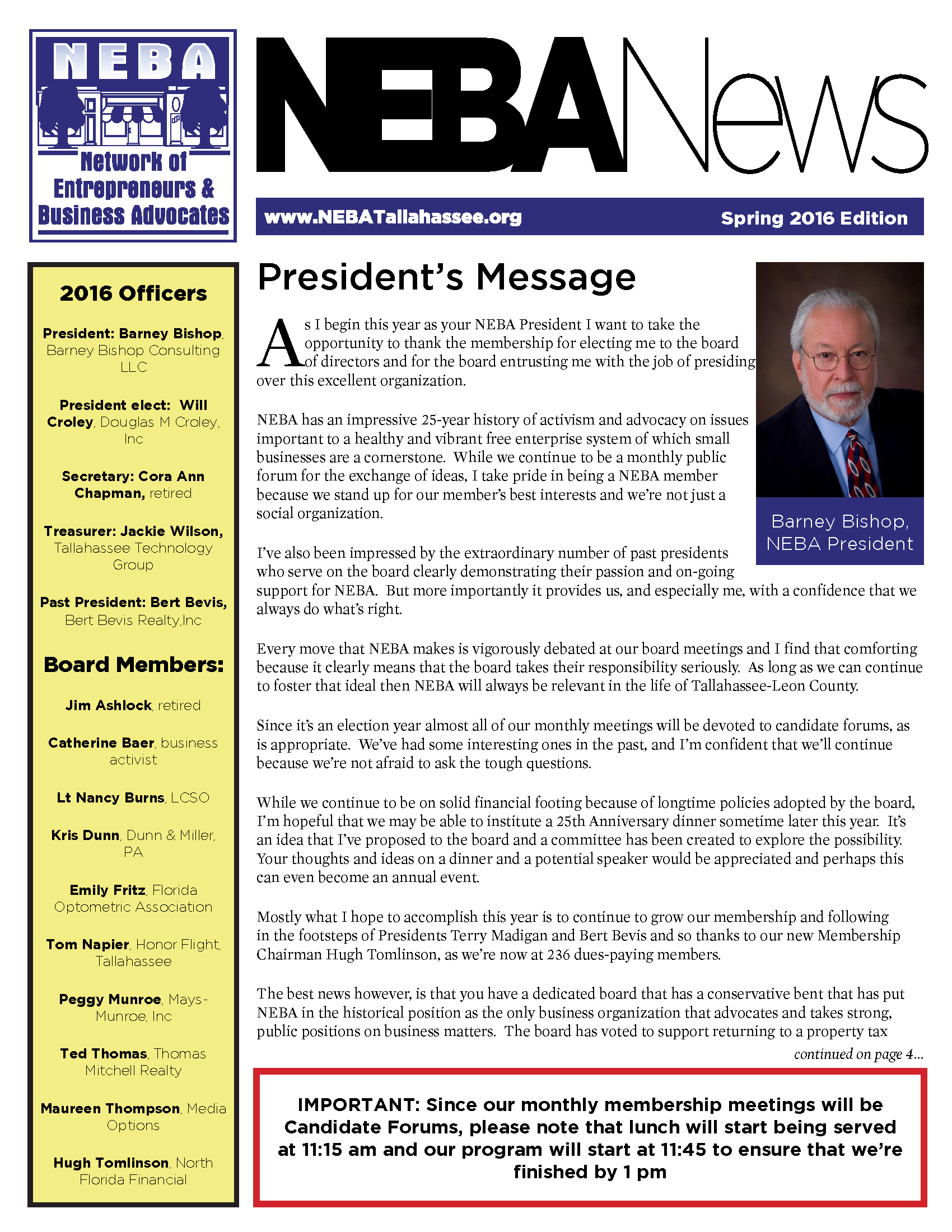 Newsletter Archive