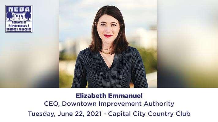 ELIZABETH EMMANUEL CEO OF DOWNTOWN IMPROVEMENT AUTHORITY