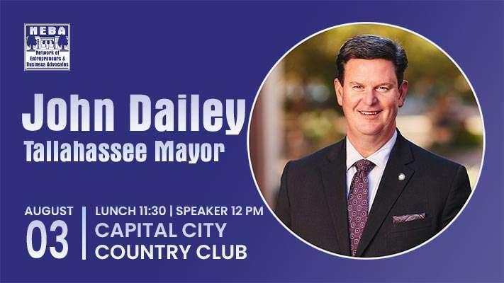 NEBA Forum Featuring Tallahassee Mayor John Dailey - August 2021